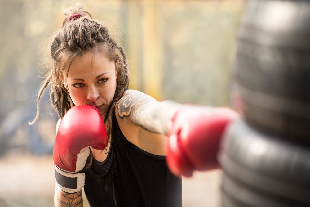 kickboxing for ladies